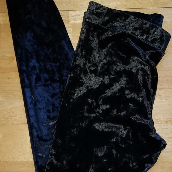 Mossimo Supply Co. Pants - Black Velvet Leggings